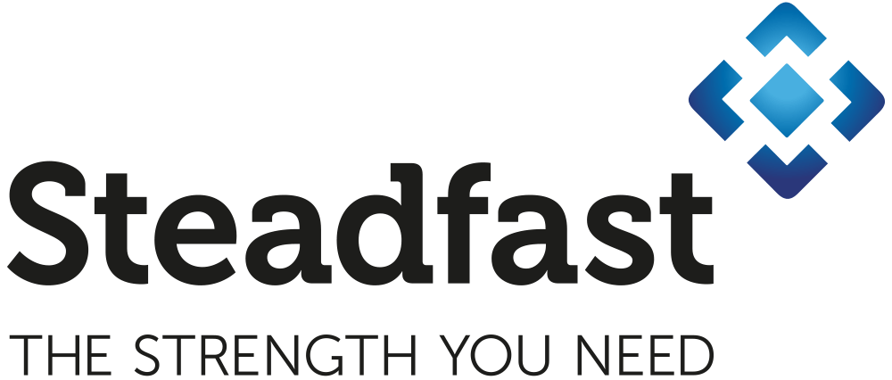 Steadfast Logo with Tagline